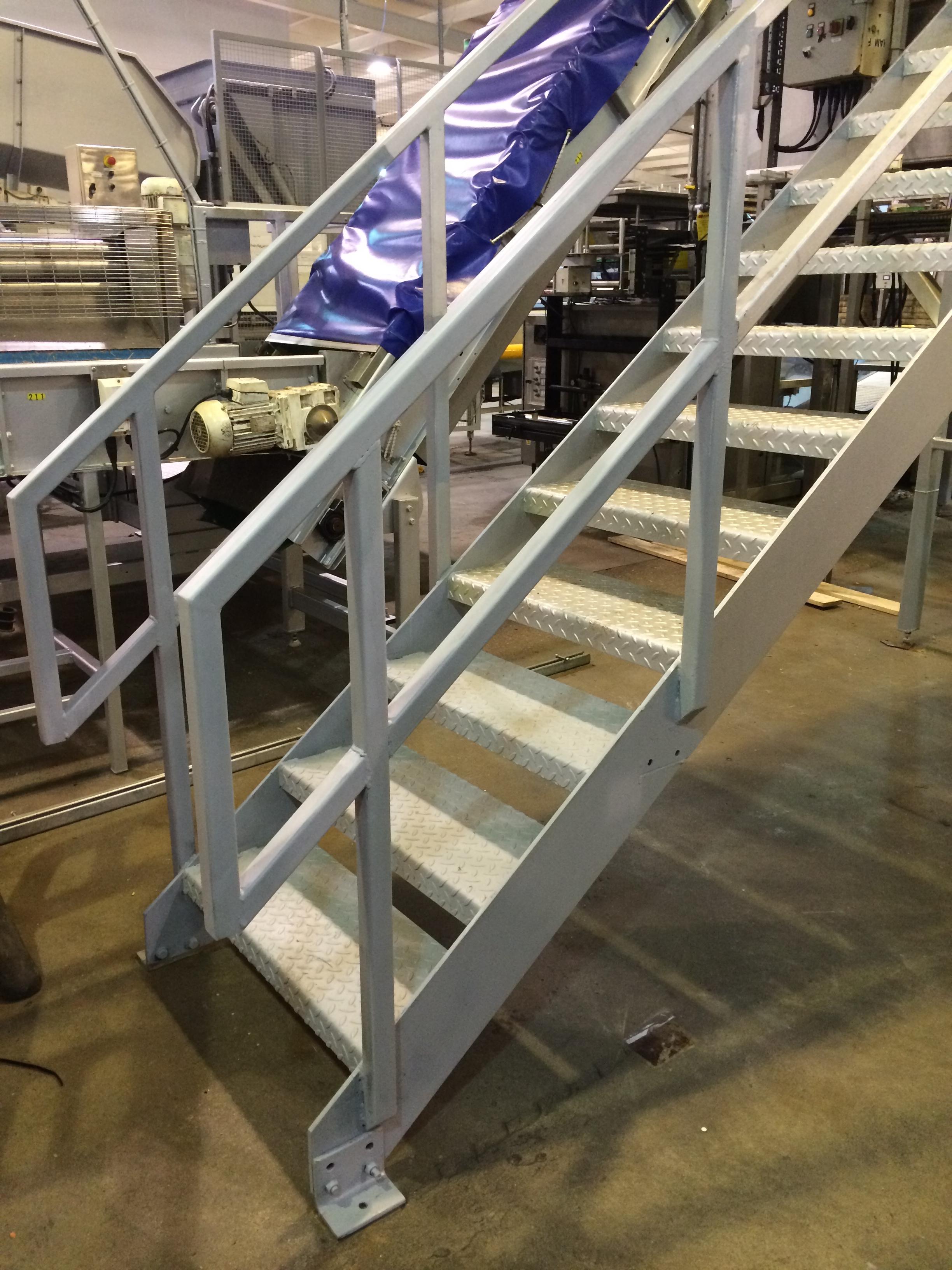 Mild steel steps