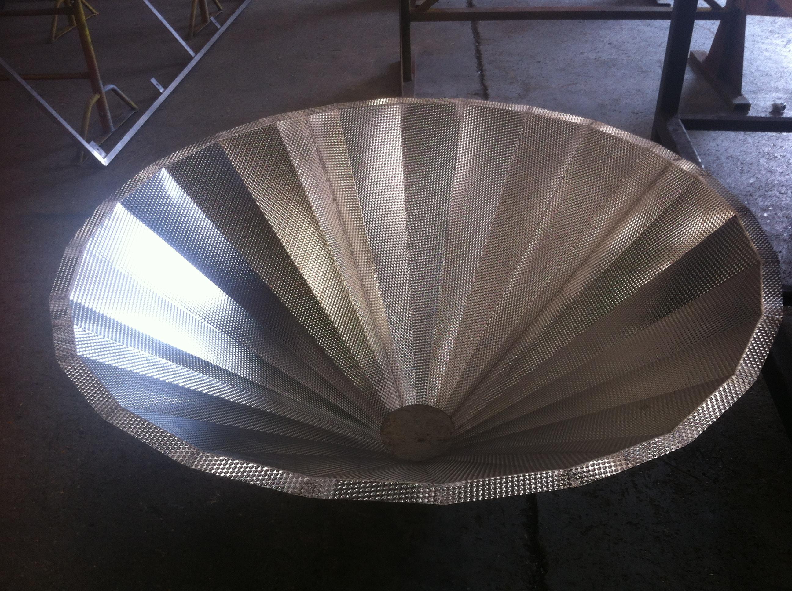 Stainless steel fabricator