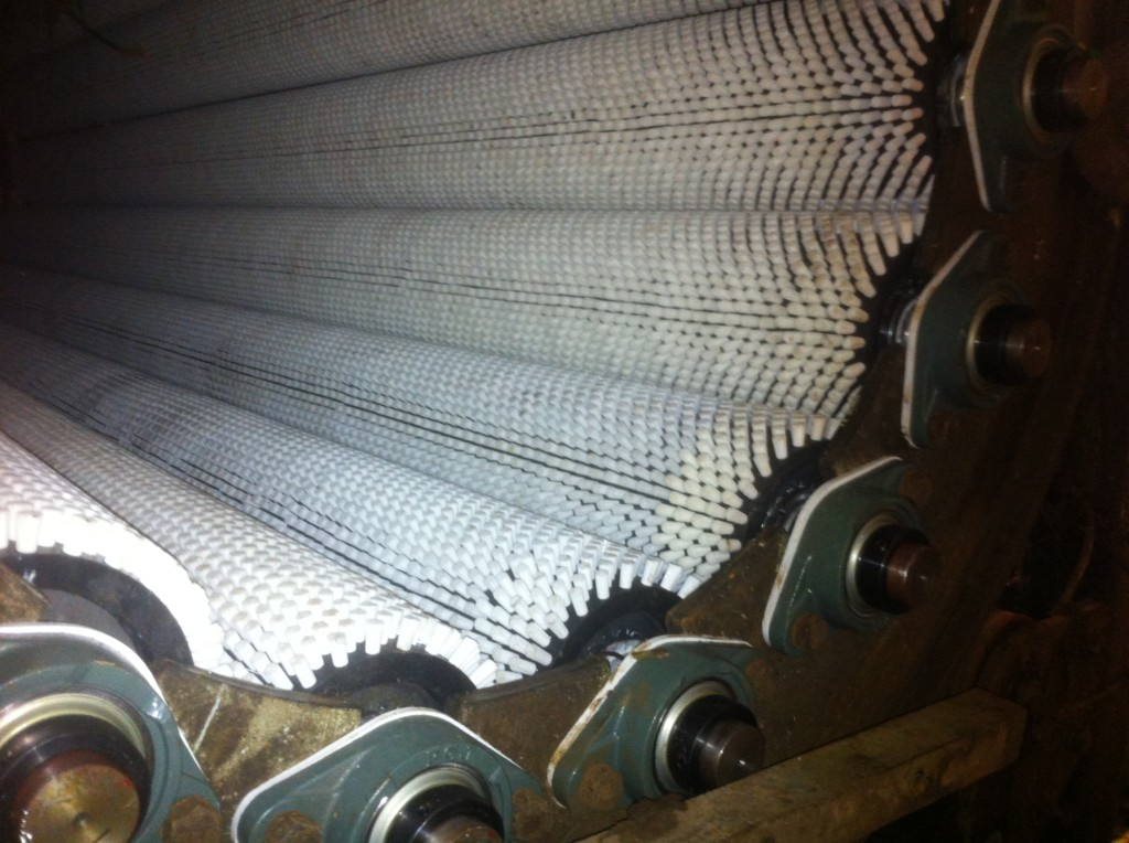 conveyor servicing